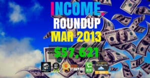 Income Report Roundup – March 2013
