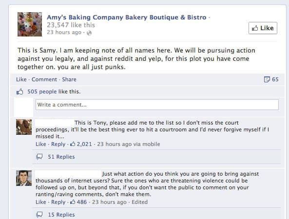 How Amys Baking Company Used Social Media To Destroy Her Business