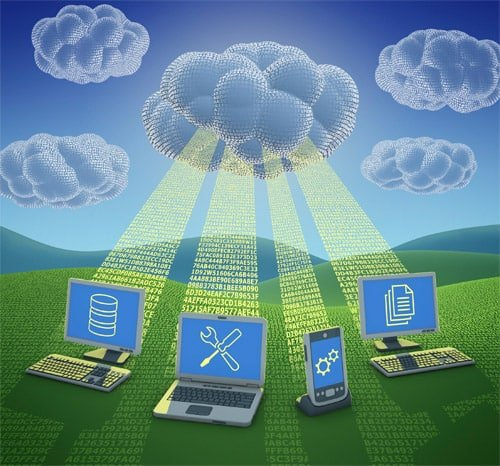 Store data in the cloud