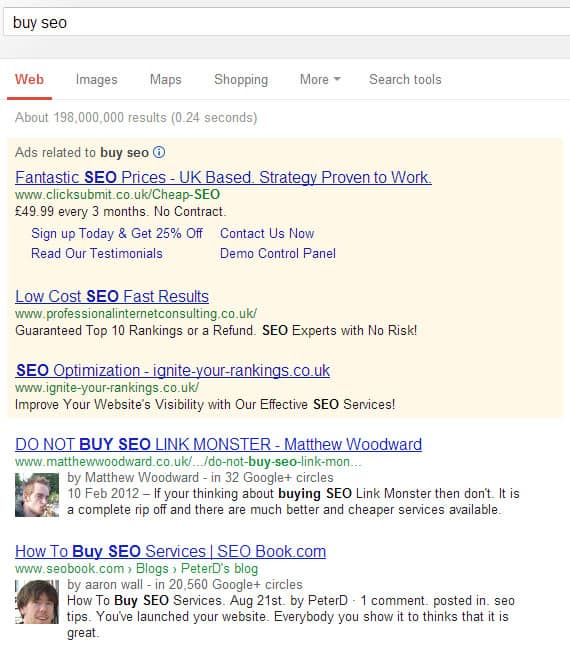 buy seo ranking improvement