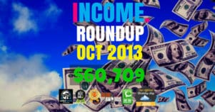 Income Report Roundup – October 2013