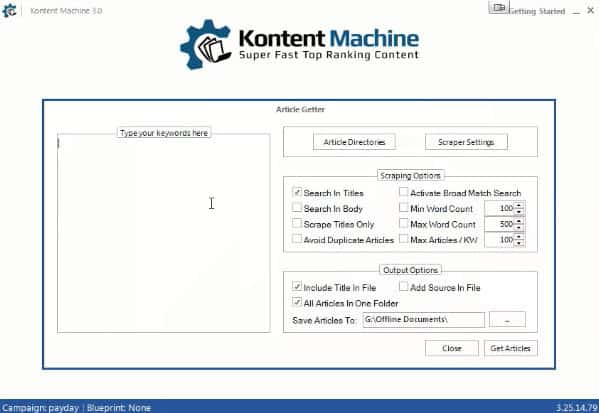 Kontent Machine Review - Easily Generate Unique Content For SEO