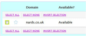 nards - Available