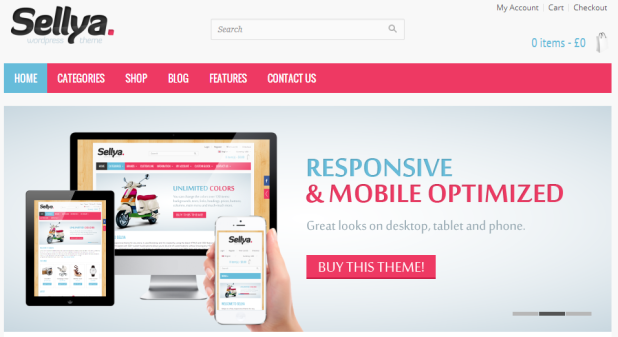 sellya woocommerce theme