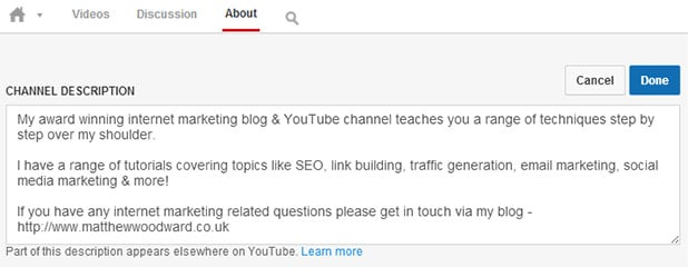 Practical YouTube Marketing Part 1 - Channel & Video