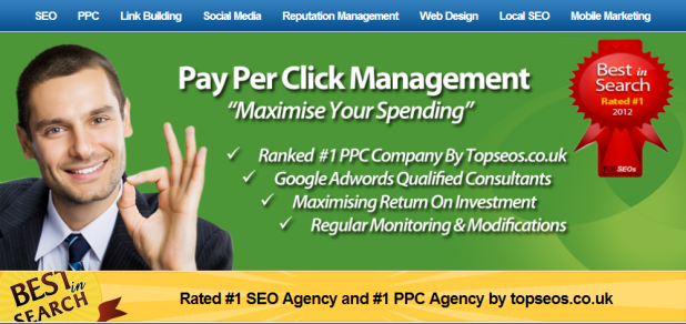 Landing page design example 5