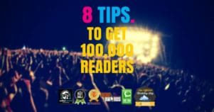 How To Get Your Blog Noticed By 100,000 People In 8 Simple Steps
