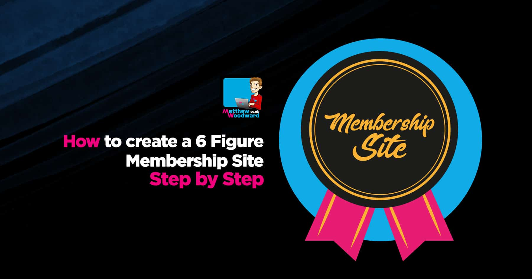 How to create a 6 figure membership site step by step create membership site 1g fandeluxe Choice Image