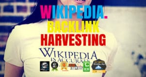 How To Harvest Backlinks & Traffic From Wikipedia & More!
