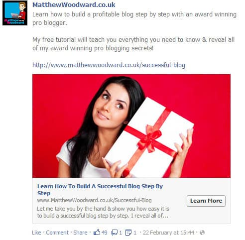 how to get email subscribers for your blog with Facebook ads
