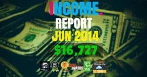 Monthly Income, Growth & Traffic Report – June 2014