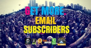 Getting Started With Email Marketing Part 3 – Getting More Subscribers & Value
