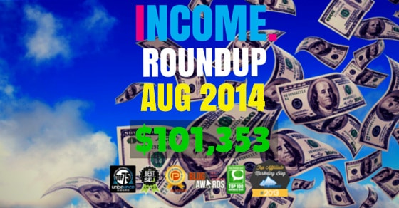 Income Report Roundup – August 2014