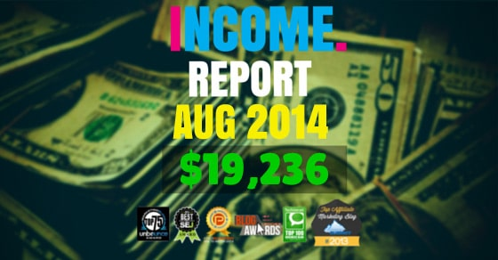 Monthly Income, Growth & Traffic Report – August 2014