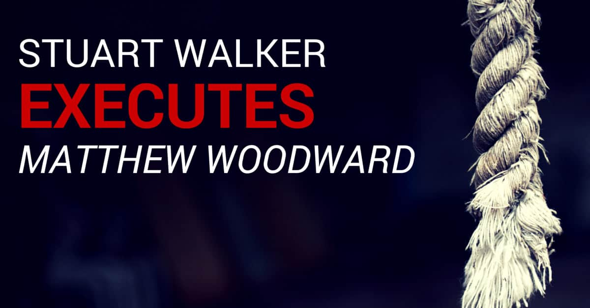 Stuart Walker vs Matthew Woodward