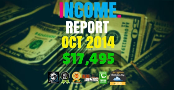 Monthly Income, Growth & Traffic Report – October 2014