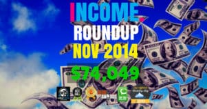 Income Report Roundup – November 2014