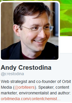 how to build a twitter following with Andy Crestodina