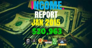 Monthly Income, Growth & Traffic Report – January 2015