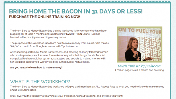 Live Online Workshop