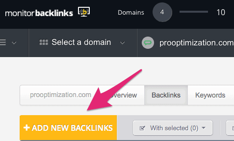 add new backlinks
