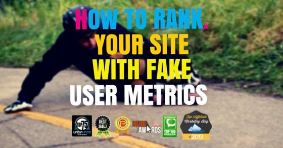 Increase Google Ranking With Fake Usage Metrics & PandaBot