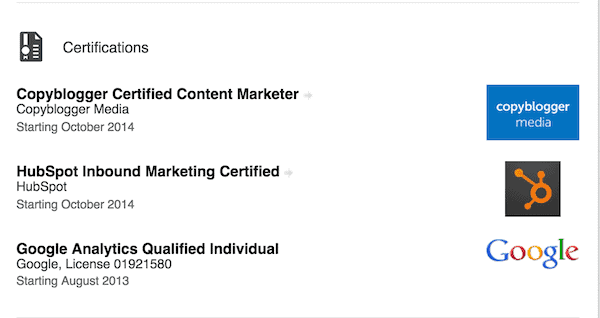 best marketing certifications for individuals