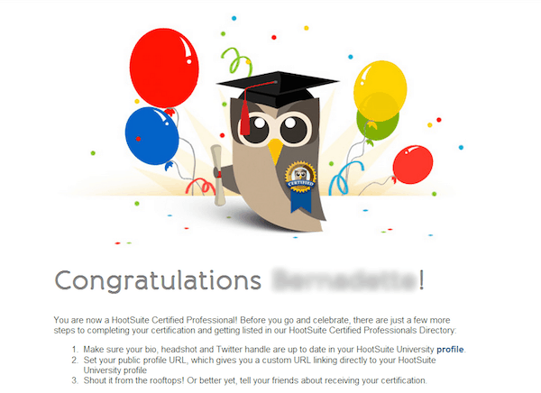 hootsuite digital marketing certification online