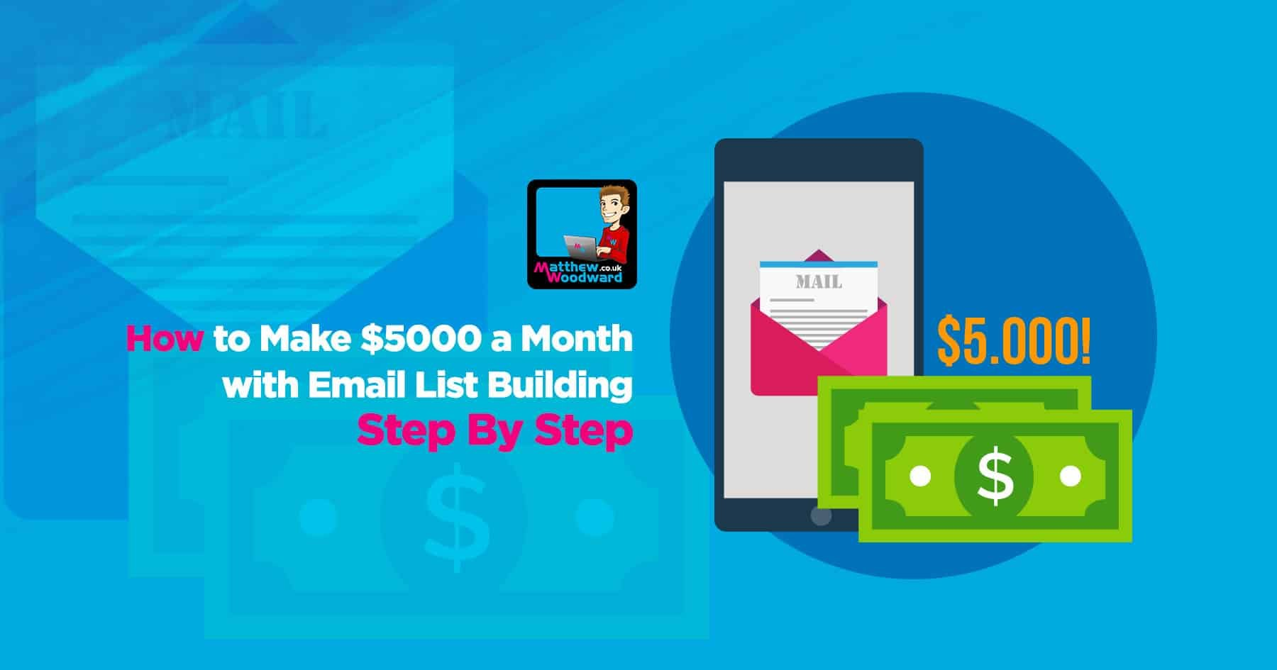 How to make 5000 a month with email list building step by step fandeluxe Images