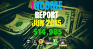 Monthly Income, Growth & Traffic Report – June 2015