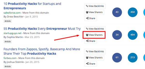view sharers