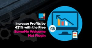 Increase Profits By 431% With The Free SumoMe Welcome Mat Plugin