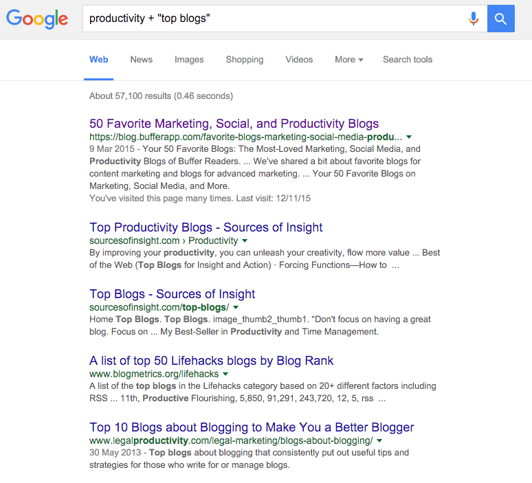 How to find an authority blogger