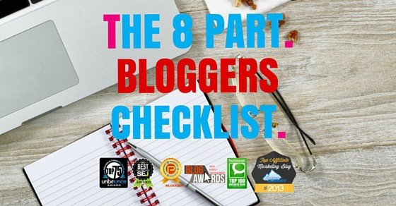 The Authority Blog Checklist
