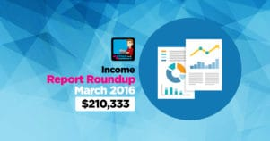 Income Report Roundup – March 2016