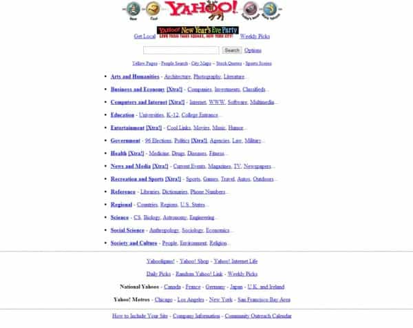 In 1996, Yahoo was the King of Search