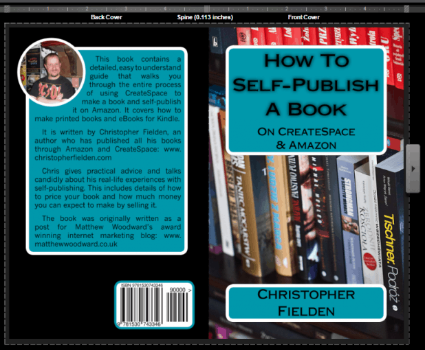CreateSpace Digital Proofer