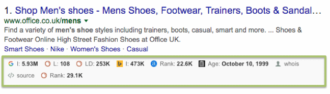 footwear search results