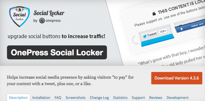 social locker download page