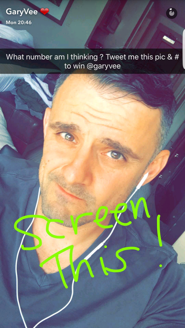 gary vaynerchuck competition