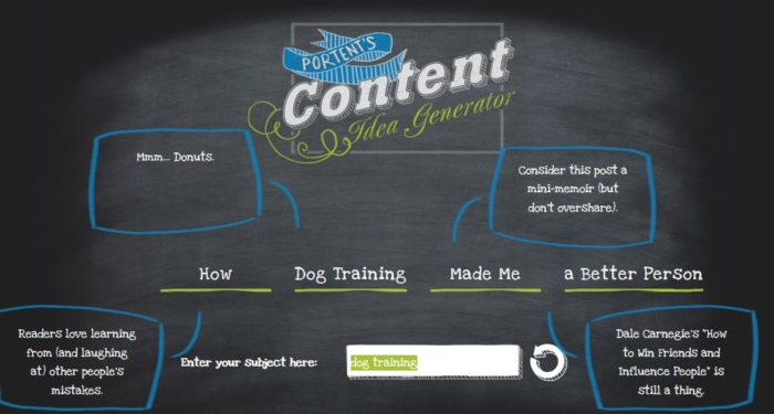 dog training content creation ideas