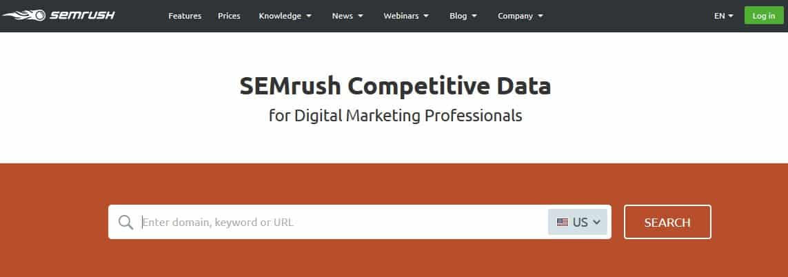 SEMRush SEO tools