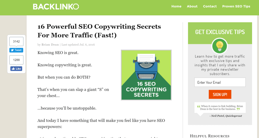 backlinko seo copywriting