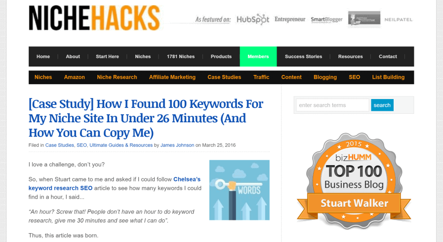 how to find 100 keywords in 26 minutes