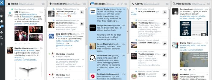 tweetdeck social media management tools