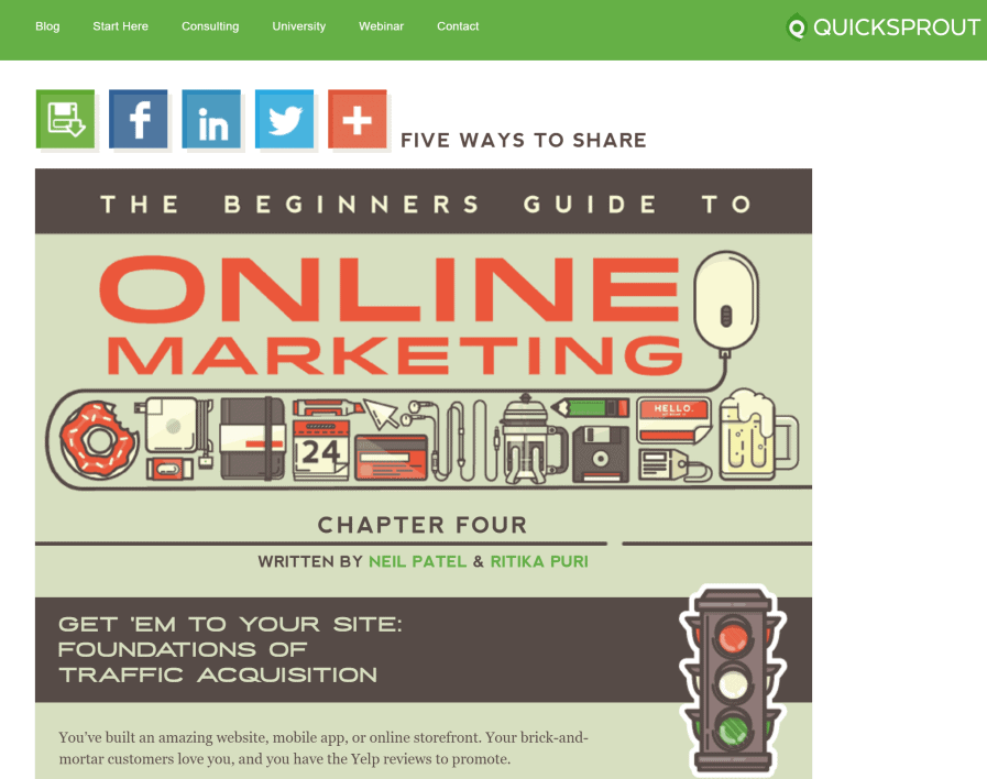 quicksprout-traffic-897x708 List of tutorials to get unlimited traffic for your websites!