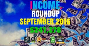 Income Report Roundup – September 2016