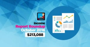 Income Report Roundup – October 2016