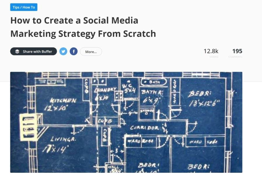 buffer social media marketing strategy