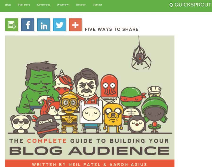 build blog audience quick sprout